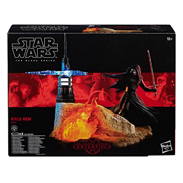 Figura Accion Star Wars Kylo Ren The Black Series Hasbro