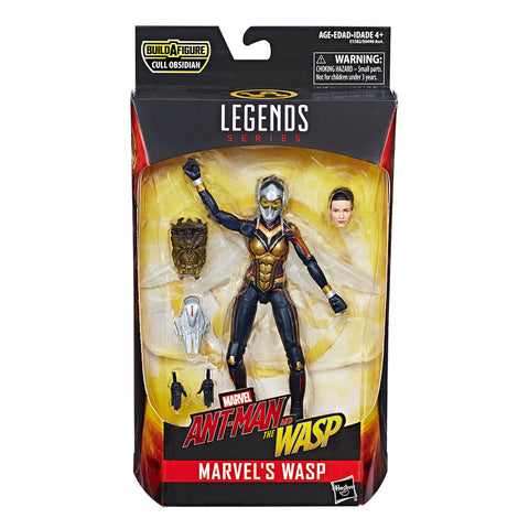 Figura Wasp 6 Pulgadas Ant-Man & The Wasp Marvel Hasbro