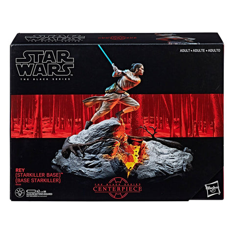 Figura Accion Star Wars Rey The Black Series 6 Pulg Hasbro