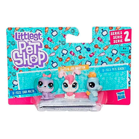 Trio Mini Mascotas E0214 Littlest Pet Shop Hasbro Assortment