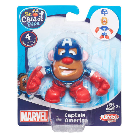Set Papa HéroesSeñor Cara de Papa Marvel Assortment Hasbro