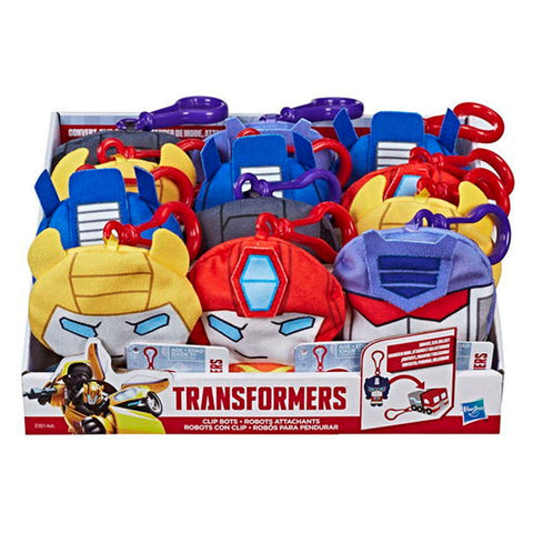 Peluche Transformers Colgante Con Clip Assortment Hasbro