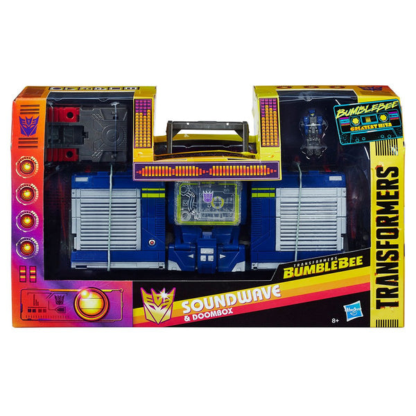 Figura Acción Sound Wave Transformer Bumblebee Hasbro
