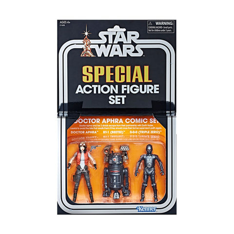 Set Figuras Acción Star Wars Convención Global Hasbro