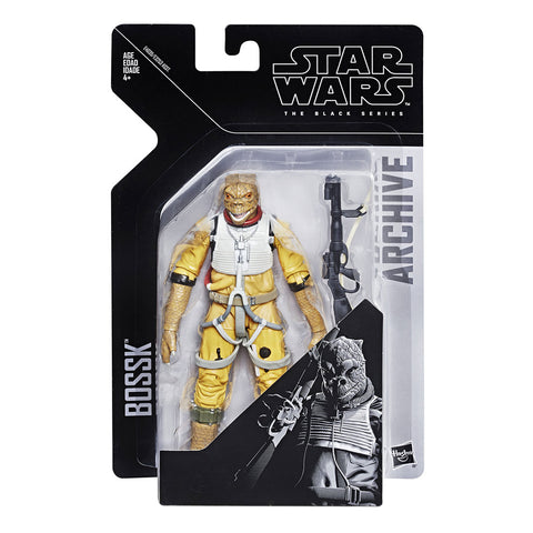 Muñeco Figura Star Wars Bossk Black Series Archive Hasbro