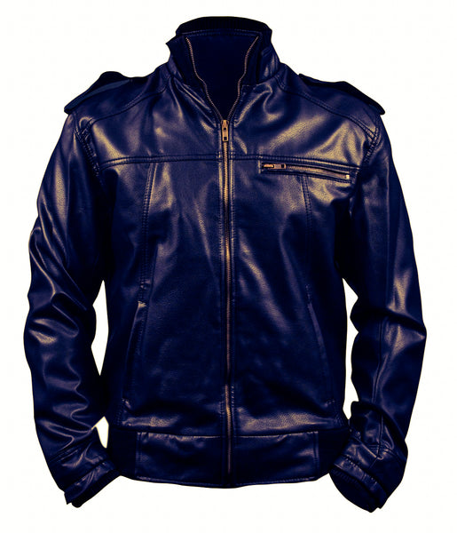 Diapo Leather Men's Cowhide Leather Jacket  DL- MLJ1197