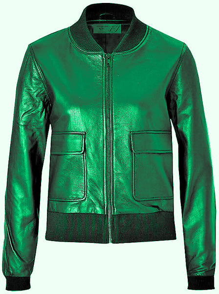 https://www.diapoleather.com/women'sgreencowhidebomberleatherjacket