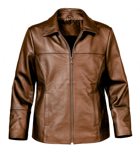 Diapo Leather Women's Vegetable Tanned Leather Jacket   DL- WLJ1174