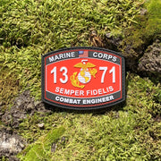 1371 Combat Engineer PVC MOS Patch