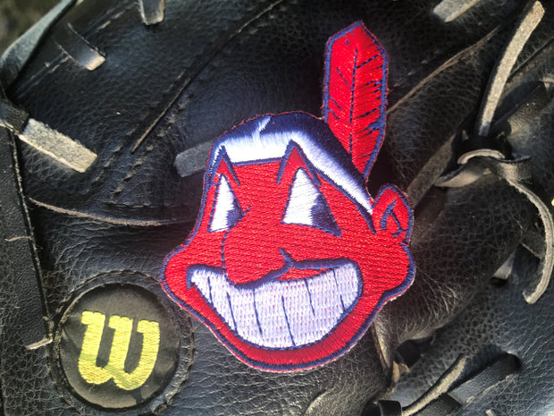 -LIMITED Embroidered Series- Chief Wahoo Iron On