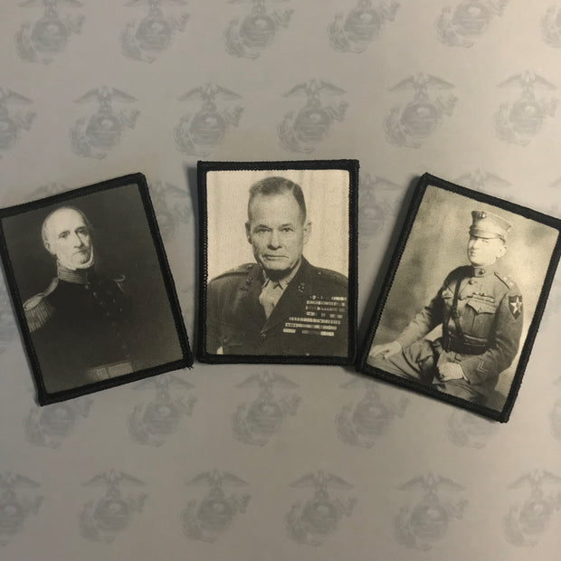 BADASS AMERICAN SERIES- Marine Corps Legends:    3 Pack DIGITAL PRINT PATCHES