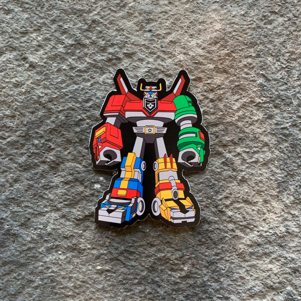 Voltron Vinyl Decal