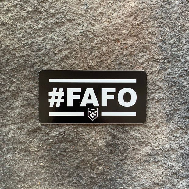 #FAFO Vinyl Decal