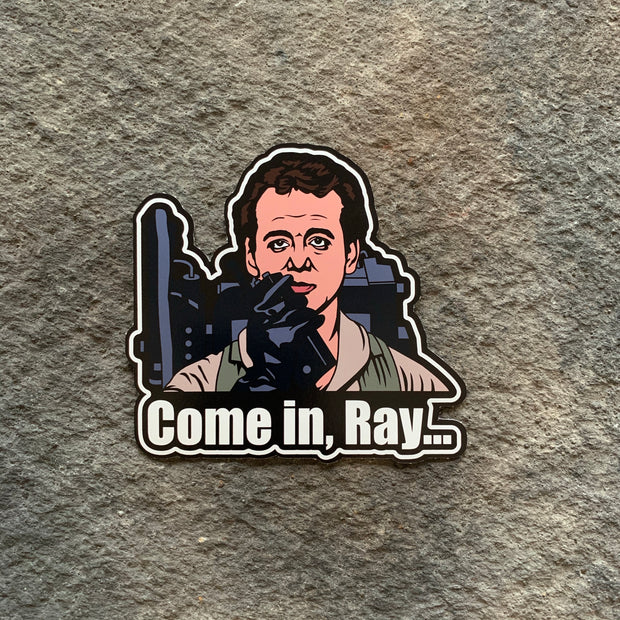 Ghostbusters Come in Ray... Vinyl Decals