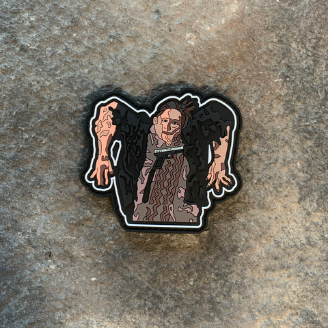Beetlejuice Road Kill Man PVC Patch