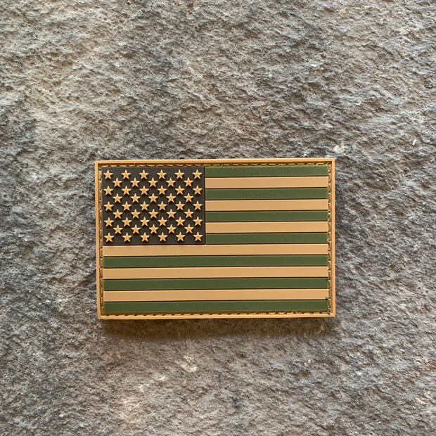OD Subdued Flag PVC Patch
