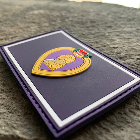 Ryan Weaver Heroes collection-  Purple Heart PVC Patch by PatchOps