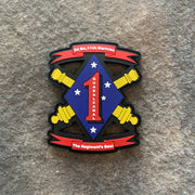 2/11 Marines PVC Patch