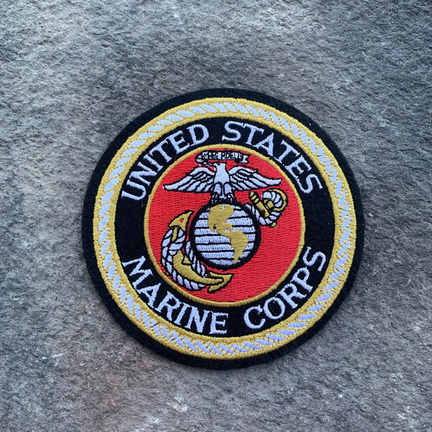Marine Corps Embroidered Iron On