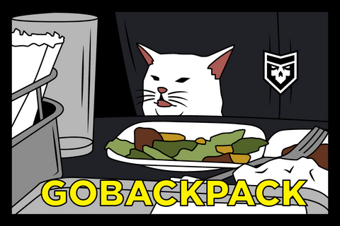 PREORDER: Go Back Pack PVC Patch