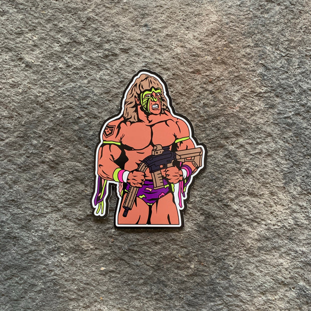 Ultimate Warrior Vinyl Decals