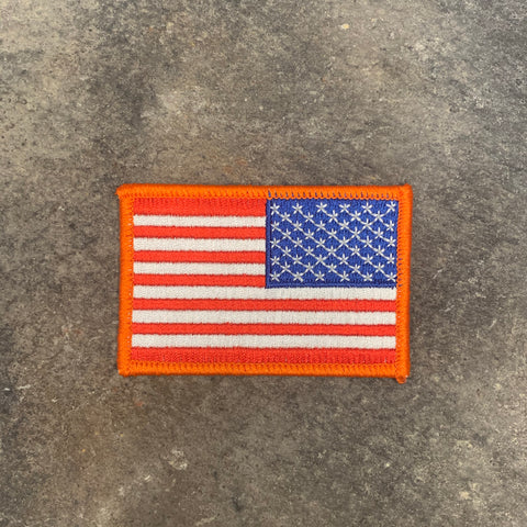 Assault Forward Embroidered loop backing Flag