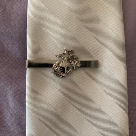 LIMITED EDITION:  Eagle, Globe and Anchor Tie Clasp