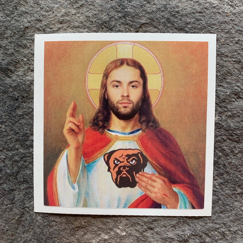 NEW!  Cleveland's Lord and Savior, Saint Mayfield