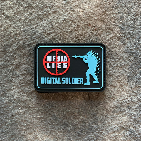 Digital Soldier PVC Patch