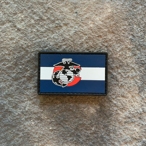 Colorado Marines PVC Patch