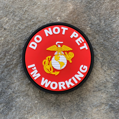 Don't Pet Working Dog USMC