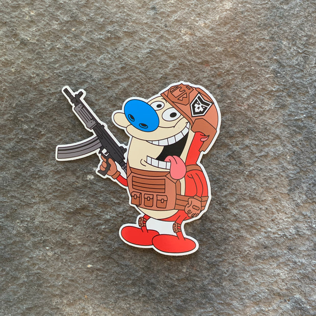 Tactical Stimpy Vinyl Decal