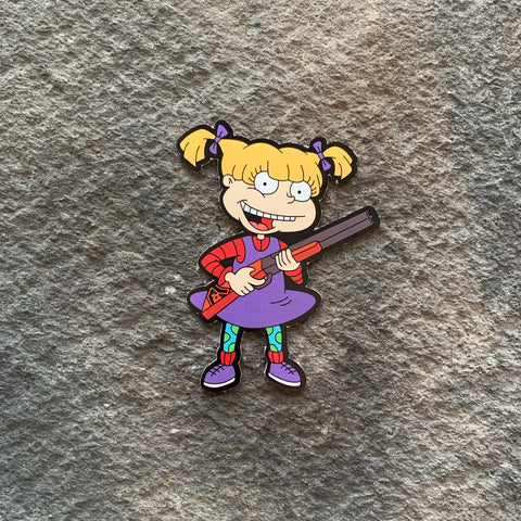 2A Rugrats:  Angelica Vinyl Decal