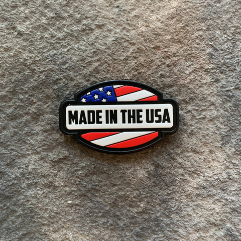 Made in the USA PVC Patch