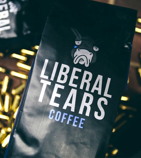 NEW!   Liberal Tears Coffee Whole Bean 12oz Bag