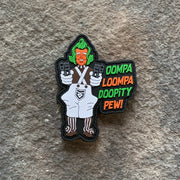 Oompa Loompa  PVC Patch