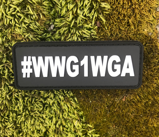 Where We Go One, We Go All.   #WWG1WGA
