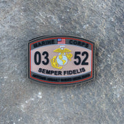 0352 AntiTank Assault Guided Missileman PVC MOS Patch