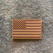 Desert Subdued Flag PVC Patch