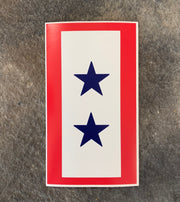 Blue Star Flag Decal by PatchOps