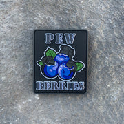 PEW Berries PVC Morale Patch