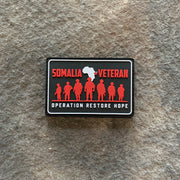 Somalia Veteran PVC Patch