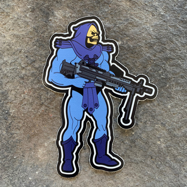 Skeletor Vinyl Decal