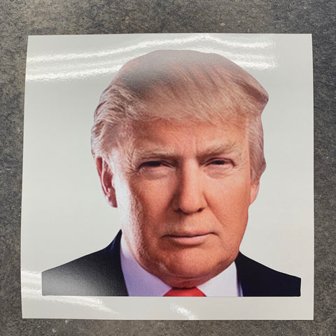 NEW!   Trump Fathead style decal