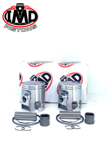 Yamaha RD200 Twin Piston Kits (2) & Piston Bearings (2)