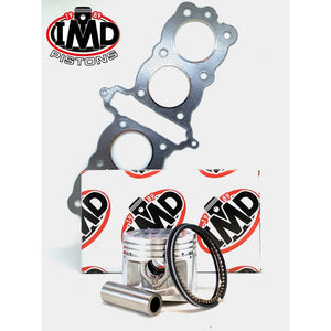 HONDA CB500 F SOHC BIG BORE PISTON KIT & HEAD GASKET - Piston Kit | IMD Pistons