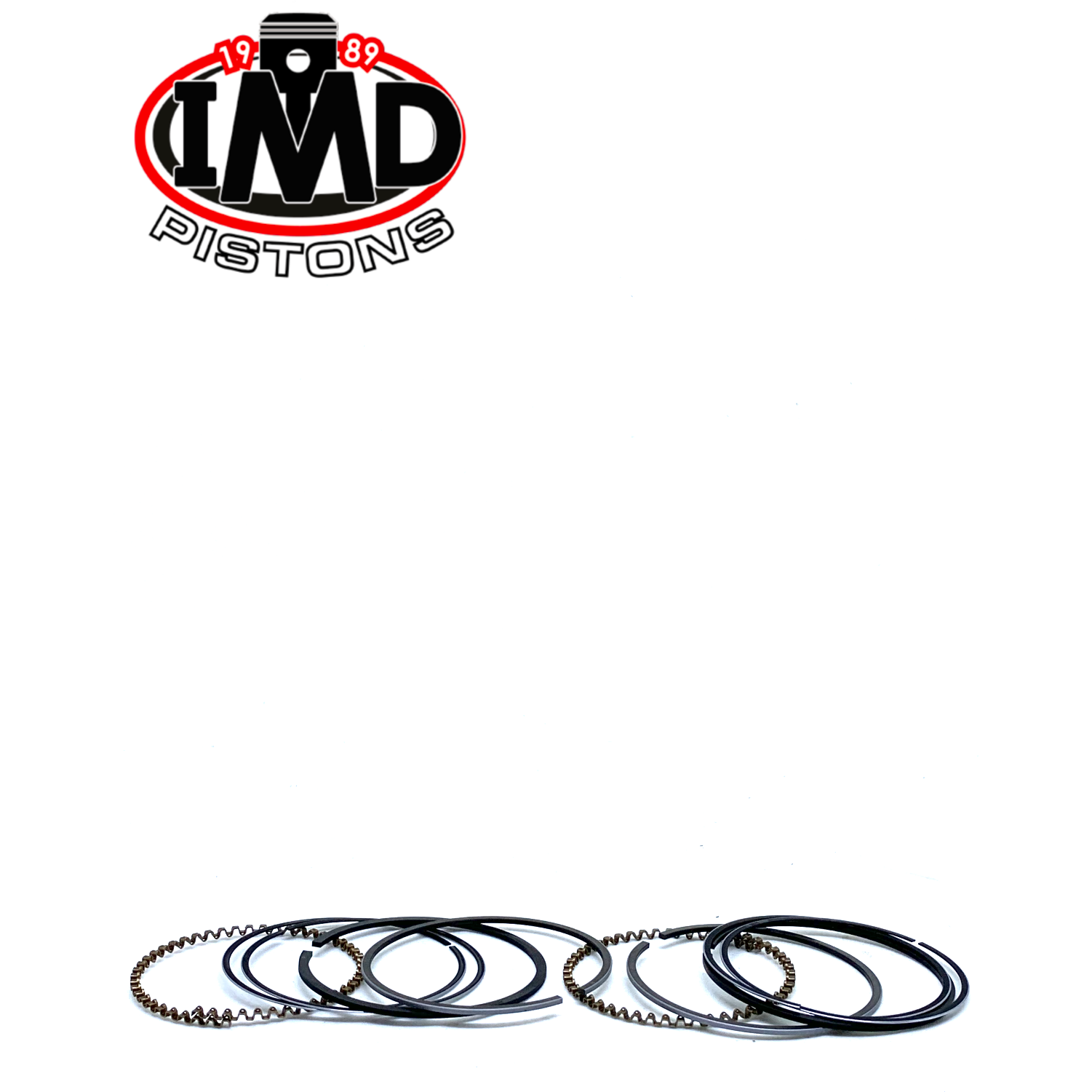 Honda CB200 CB200T PISTON RING SETS (2) - Piston Rings | IMD Pistons