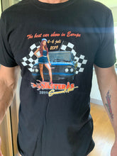 Load image into Gallery viewer, Svart Västerås Summer Meet t-shirt 2019