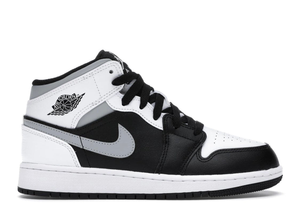 Nike Air Jordan 1 Mid GS 'White Shadow'