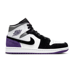 Nike Air Jordan 1 Mid SE 'Varsity Purple'